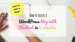 Want to start a blog and confused with all the technicalities? Don't worry! This post is step by step tutorial to create a WordPress blog with Bluehost. Blogger | How to create a blog | How to launch a blog | beginner blogger | how to
