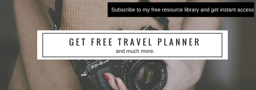 travel checklists and planners