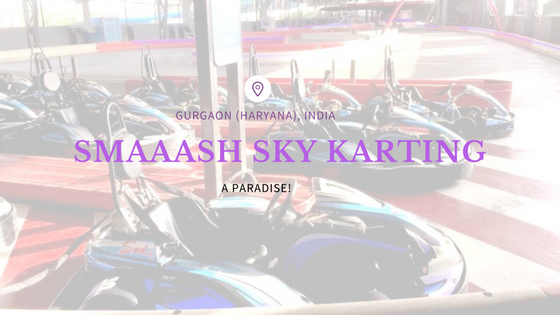 SMAAASH sky karting