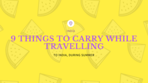 things to carry while travelling