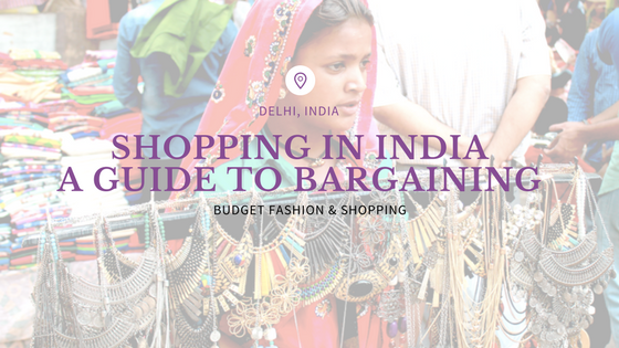 budget shopping and bargaining