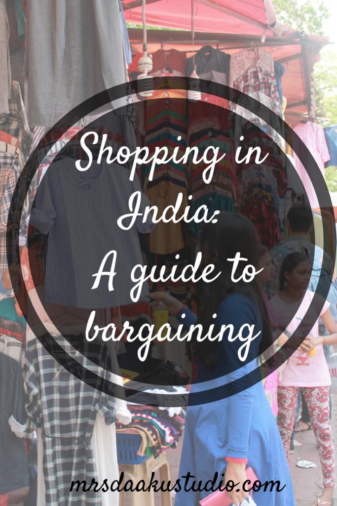 budget shopping and bargaining