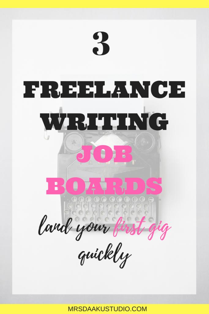 freelance writing job boards