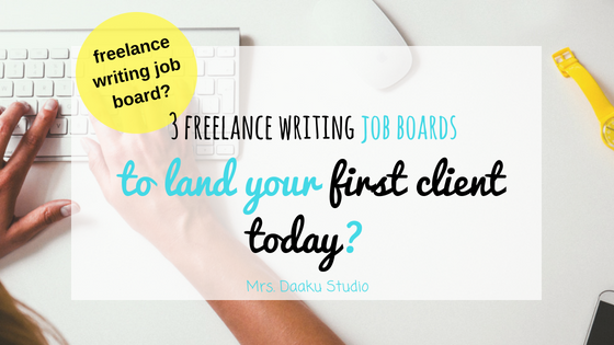 freelance writing job boards