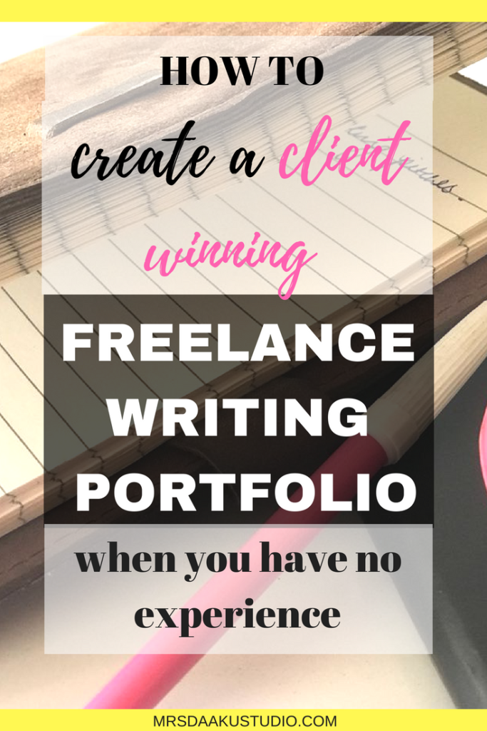 Building a freelance writing portfolio. This is a detailed a resource for freelance writing beginners. It is step by step tutorial that tells you how to how to create an impressive freelance writing portfolio that lands you work from home jobs. Click here to read.