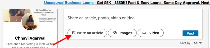 freelance writing portfolio self publish