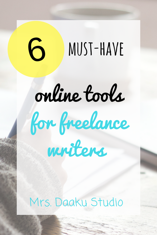 online tools for freelance writers