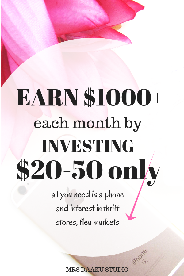 Side hustle idea which makes you $1000+ a month working from home with no experience. So, start flipping things for profit, look up items in thrift stores, flea market and them on eBay for huge profits. Start making money online, boost your passive income and achieve financial freedom. CICK HERE NOW