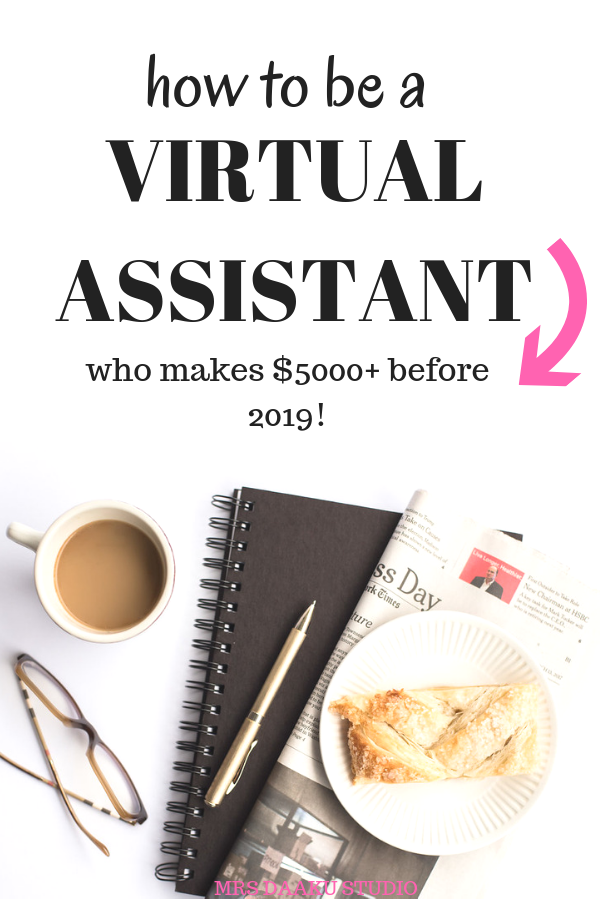 Side hustle idea that makes you $100 an hour. This post covers how to become a virtual assistant, services to offer, virtual assistant business tips, how to market yourself etc. Virtual assistant is the best way to make extra money online, work at home legitimately, and it is without investment.