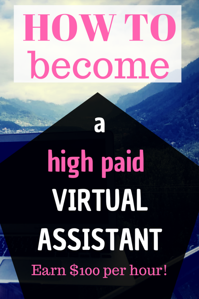 This is a detailed post on how to become a virtual assistant with NO experience. Get started and work your way up from $20-50 to $100 per hour. How to become a virtual assistant | Virtual assistant services | Virtual assistant business | Virtual assistant jobs