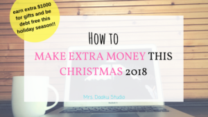 Are you looking for ways to make extra money this Christmas? Making money on the side was NEVER this simplified. This is a post which contains 15 side hustles for moms and everyone else who are looking for ways to make money online and at home. Side hustle ideas | how to start a side hustle | work at home legitimate | work at home no experience | making money online without investment