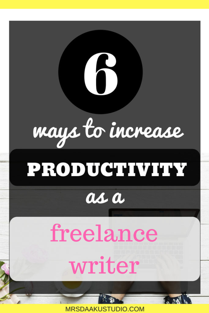 6 ways to increase productivity as a location independent professional | I get it, it is difficult to manage everything alone as a freelancer but with these 6 simple tips you can start acing it from the beginning. Click here to read
