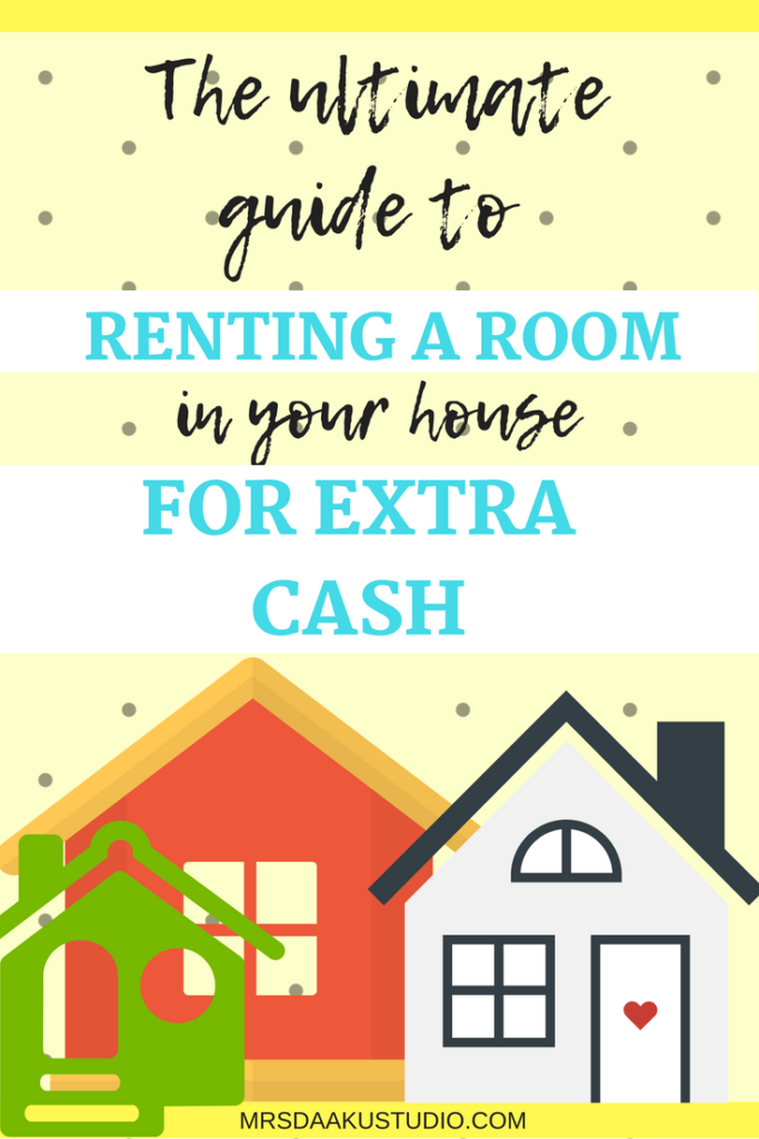 Are you looking to start a side hustle this year? Renting a room in house for cash can get you results quickly. But, there are several factors to consider before you sub let a room and this posts gives you everything you need to know. Side hustle | side hustle ideas | extra cash | passive income | how to make extra money