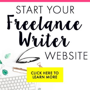 stay at home jobs for moms - freelance writing