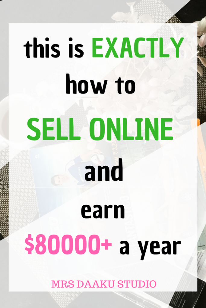 What should i sell online to make money