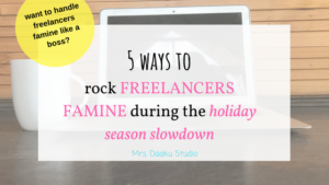 Are you worried about the slowdown in work during the upcoming Christmas holidays? Then, this is for you. It is a detailed post that talks about 5 things to include in your freelance business plan to drump up your business and making extra money for Christmas. Freelance | Freelance writing | side hustle ideas | work at home jobs for stay at home moms | increasing income