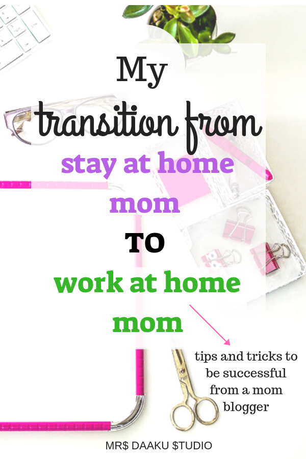 Work at home jobs for mom or stay at home moms can get difficult at first. This post provide work at home tips, schedule tricks, ideas on time management for working at home with kids. So you can make money online and be successful at a side hustle or a work at home job.