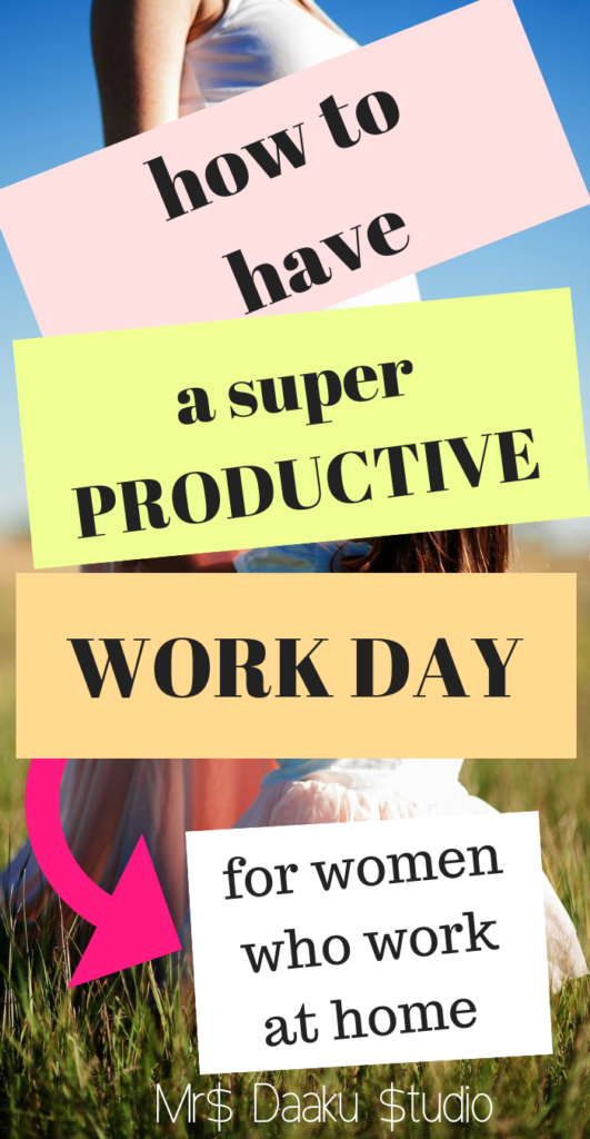 Time management can be difficult for work at home moms and people. In this post, I share 5 tips I learned over time which can make you insanely productive. Productivity tips | productivity hacks | time management tips for moms | work at home | side hustle ideas