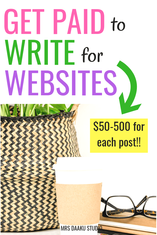 Freelance writing need not a full fledged business. You can write for online blog and websites, contribute once, and earn $50-500 for each contribution. So, make money online, earn extra cash and spend in the way you want it