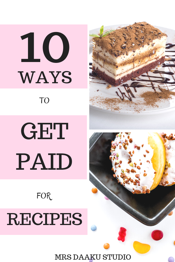 Side hustles like this are my favorite - they turn our passion to profits and then a full time legitimate work at home option which did not ask for experience. This post shares ways to make extra money by selling recipes or getting paid for your recipes. CLICK HERE