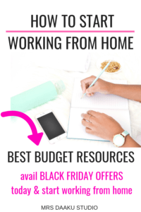 Do you want to work from home and be a profitable home based business idea? But, it is only possible with the right work at home resources and that is what this post contains. Not only do I share budget courses, but I also share black friday codes which makes these investments super affordable