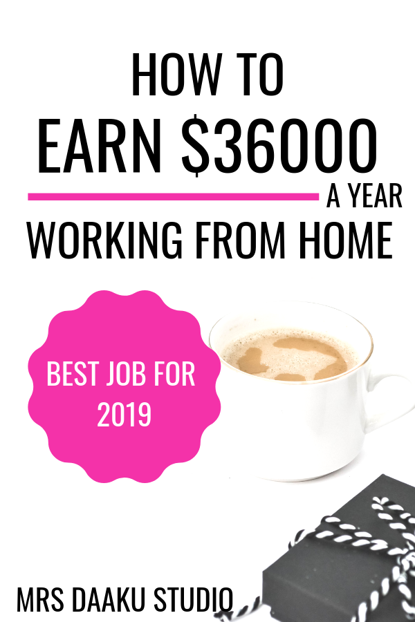 Become a virtual assistant and manage pinterest. It is the best stay at home job in 2019. You can be debt free and achieve financial freedom easily and spend time with family