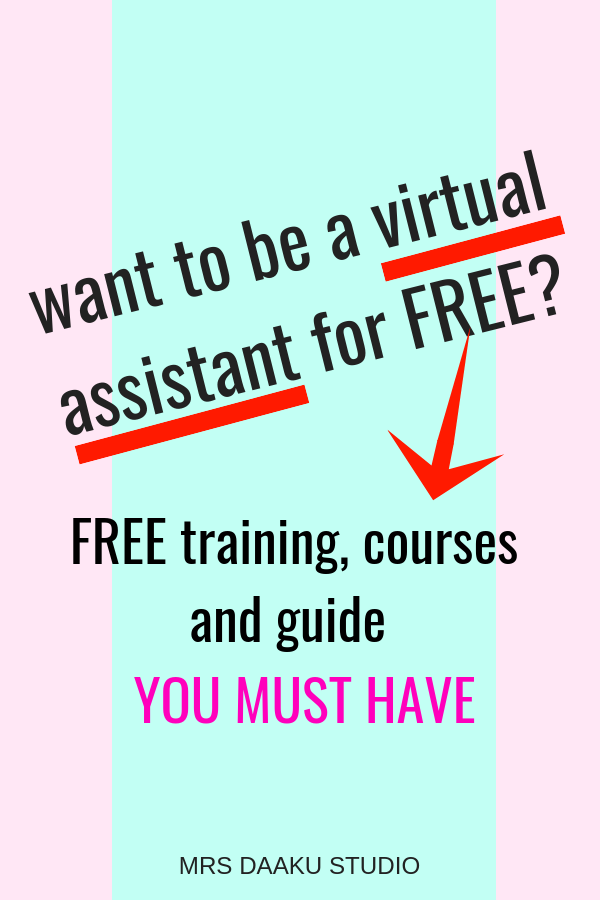 Become a Virtual Assistant FOR FREE. With these FREE virtual assistant training, you can land high paying virtual assistant jobs for beginners with no experience