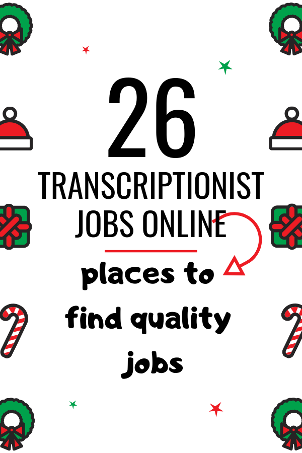 If you are a transcriptionist with no experience, this post will tell you how to land transcriptionist jobs online and make money working from home. Click here to know 26 places you can find jobs to make money online. CLICK HERE to take action.
