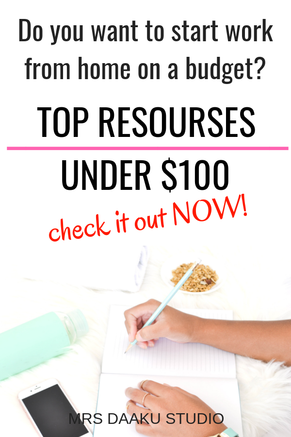 Legitimate Work from home jobs are hard to find BUT what is harder is to start a side hustle or a stay at home job on the right foot. In this post, I share BUDGET work from home courses that will help you without you having to sell your soul