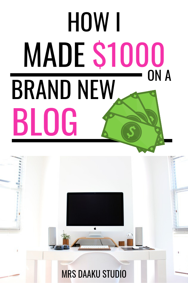 Blogging tips and tricks are complicated. In the past 6 months of revamping an old blog, i was able to make $1000 in total. In this post I tell you how to make money blogging for beginners, share my income report, share tips and tricks on what worked for me and what did not.