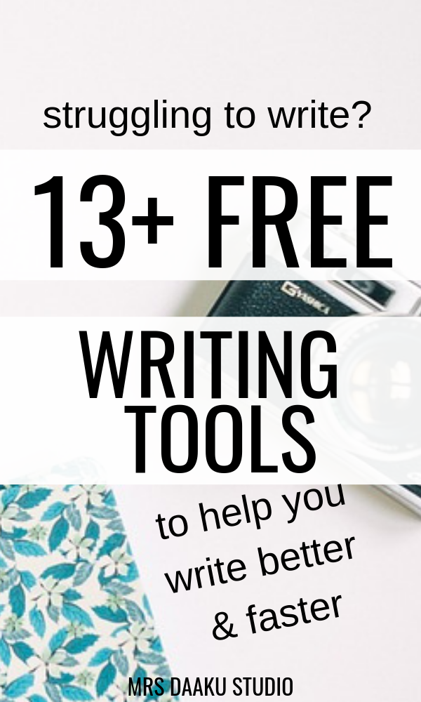Freelance writing tools for beginner writers and bloggers. If you are struggling to write, these online writing tools can help you writer faster.  Click here to get access to 10+ tools.