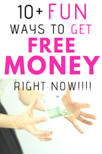 Get free money right now in 2019? (#2 is SO fast and easy!)