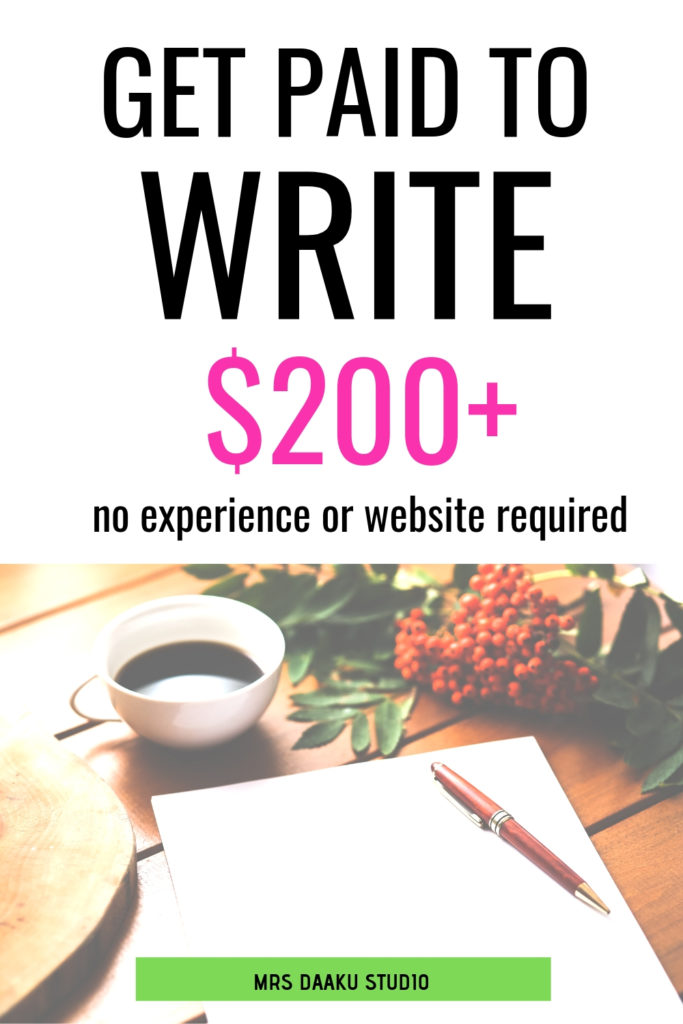 Get paid to write: 21 blogging sites that pay $150+