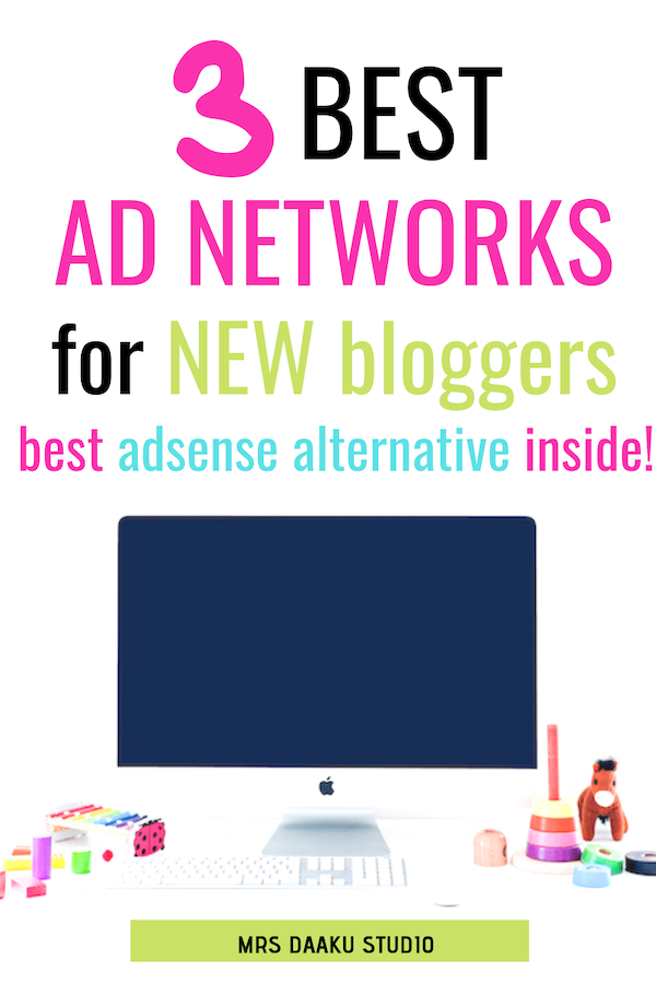 3 best ads network for bloggers (+ perfect Adsense alternative)