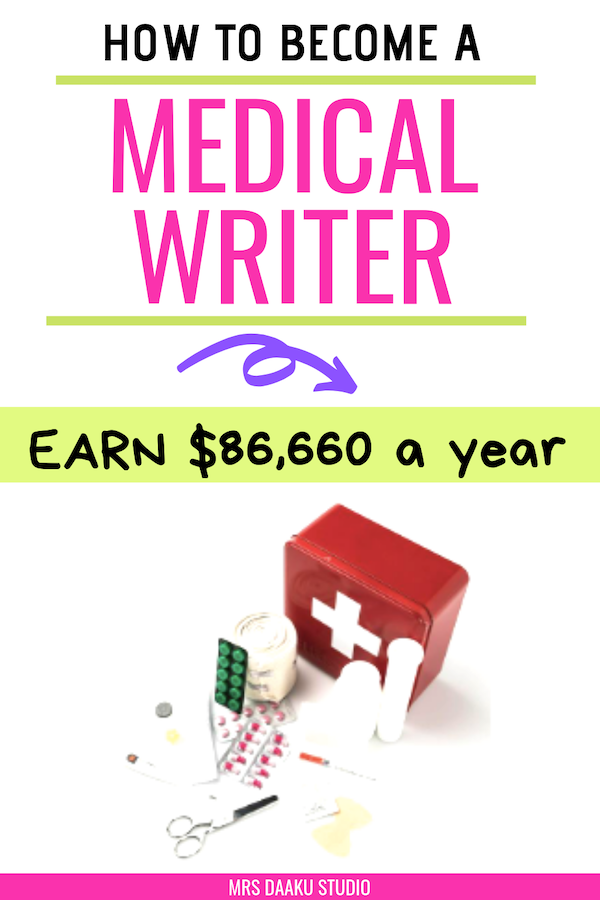 how to become a medical writer