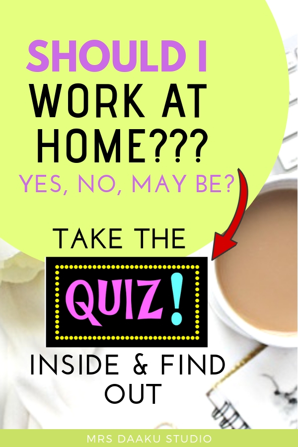 is work from home is right for me