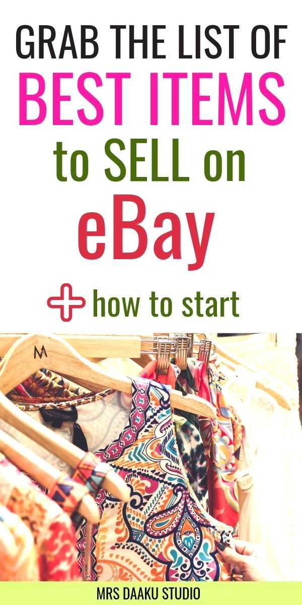 best items to flip on ebay