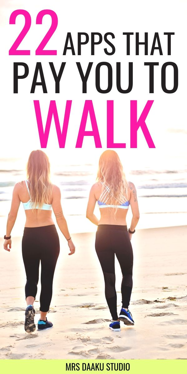apps that pay you to walk run exercise
