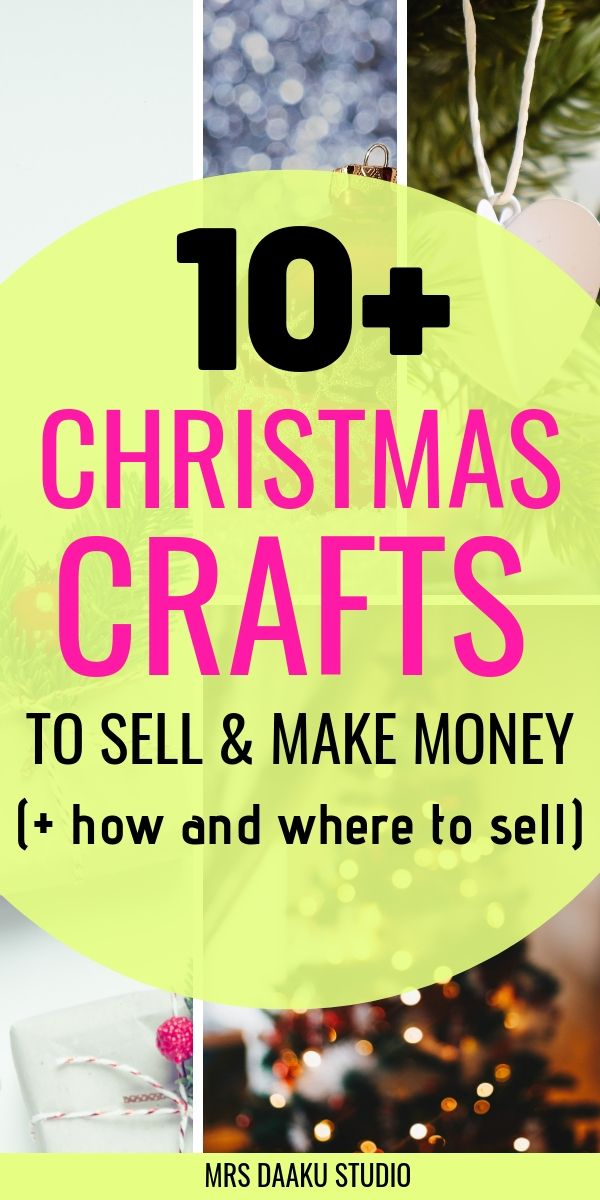 Easy Christmas Crafts To Sell.10 Christmas Crafts To Sell And Make Holiday Cash Today