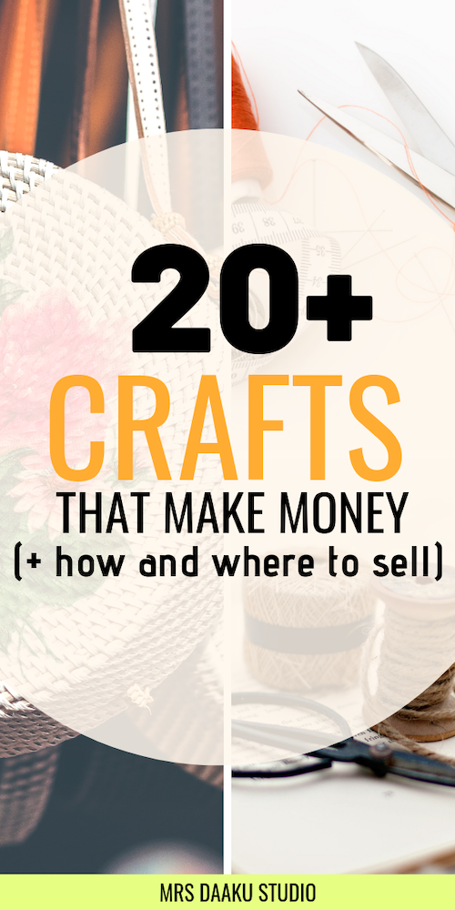 crafts that make money