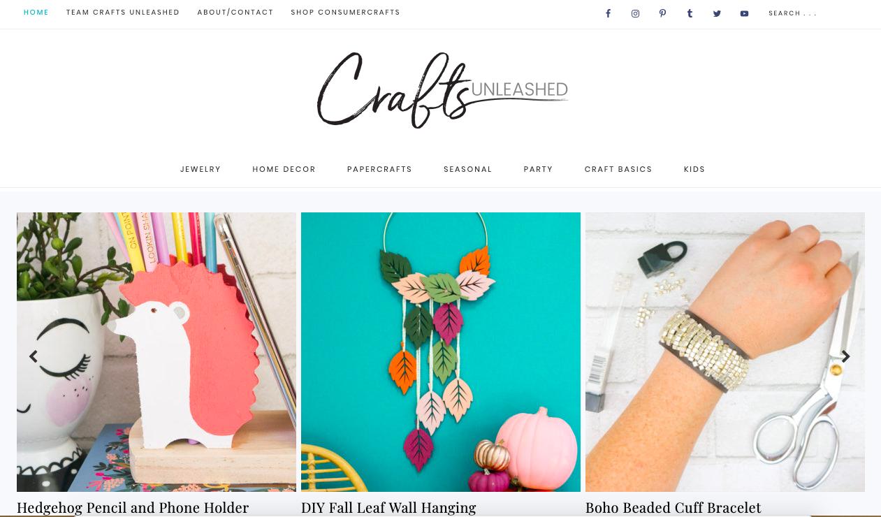 crafts unleashed crafts blogging to make money