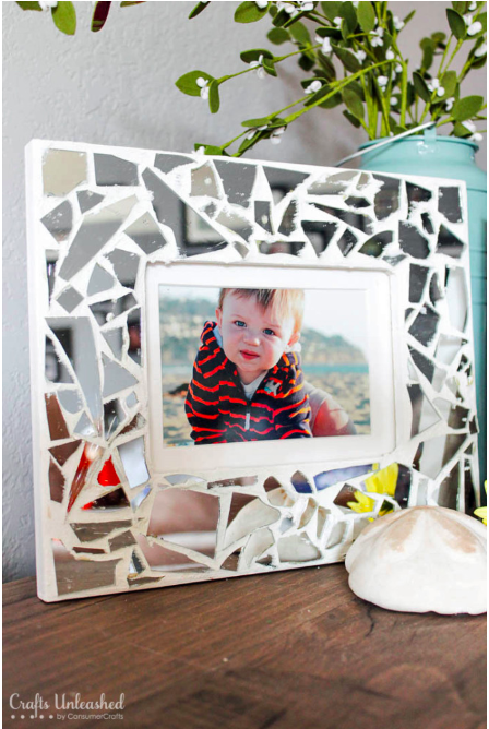 mosaic frame crafts that make money