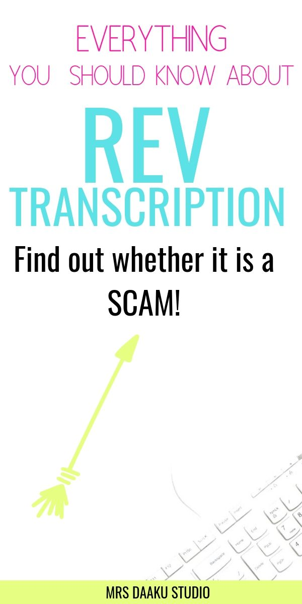 rev transcription review and test