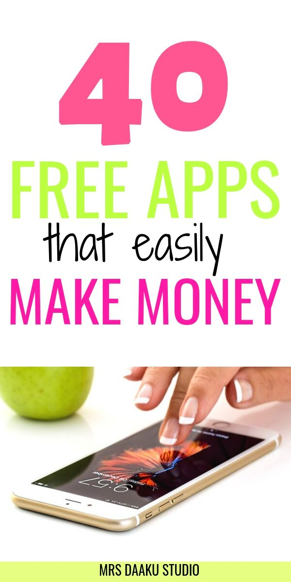 free apps that make money on a tall while graphic