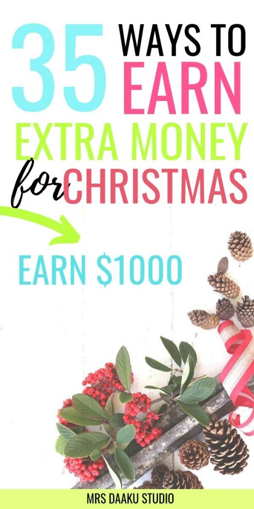 ways to make money online for christmas