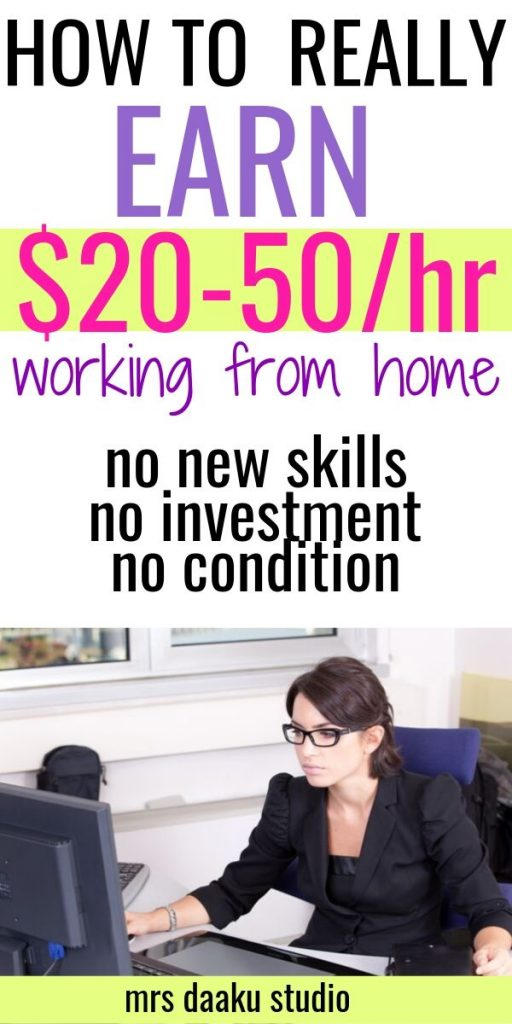 become a virtual assistant - secretary on a laptop - pinterest graphic