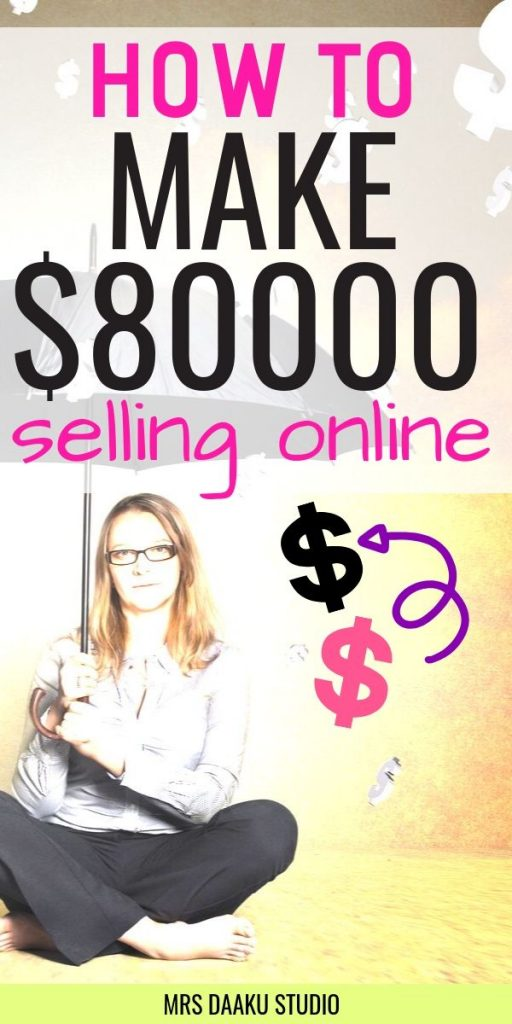 making money online - pinterest graphic