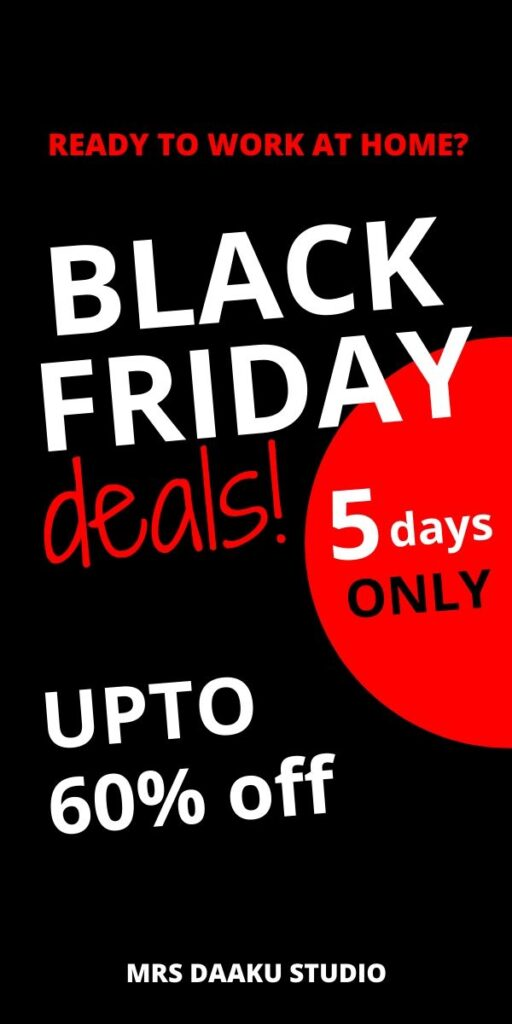 black friday deals for working at home