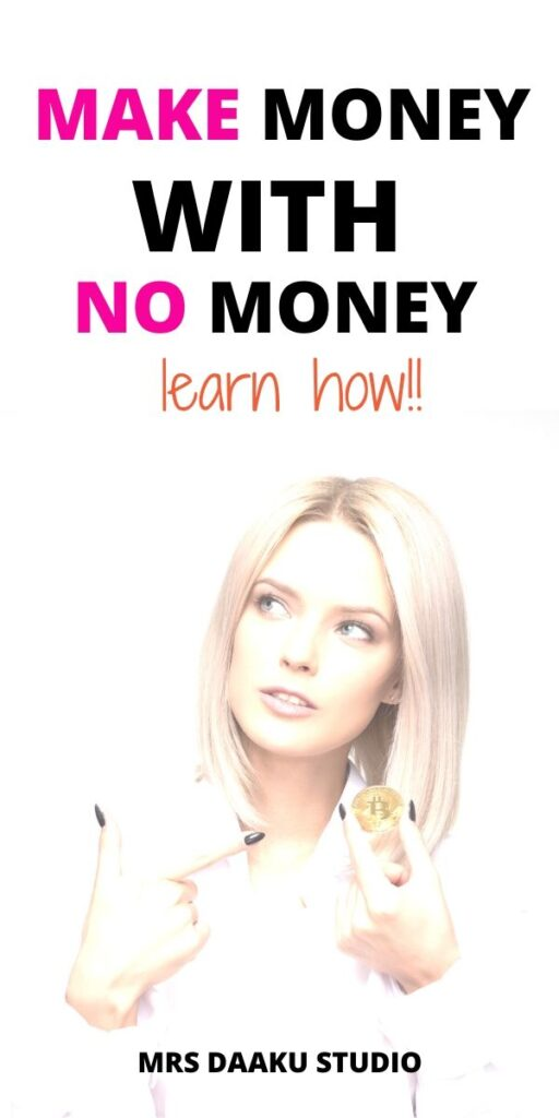 how to make free money online - pinterest graphic