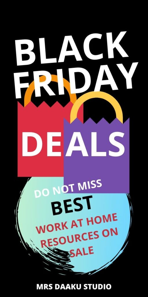 black friday deals for work from home moms